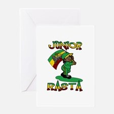 Junior rasta! Greeting Card