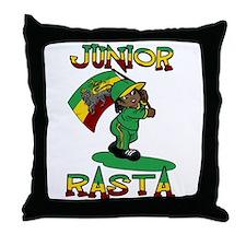 Junior rasta! Throw Pillow