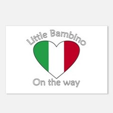 Little Bambino On the Way2 Postcards (Package of 8