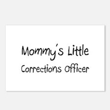 Mommy's Little Corrections Officer Postcards (Pack