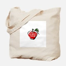 No Meat For Me Tote Bag