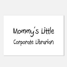 Mommy's Little Corporate Librarian Postcards (Pack