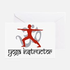 Yoga Instructor Greeting Cards (Pk of 10)