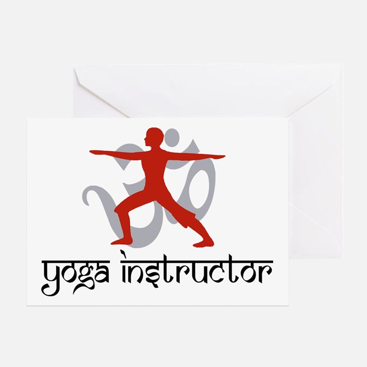 Yoga Instructor Greeting Card