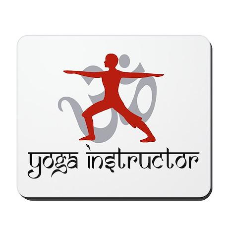 Yoga Instructor Mousepad