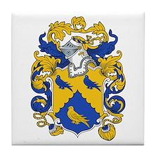 Hodgson Family Crest Tile Coaster