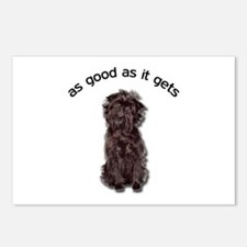 Good Affenpinscher Postcards (Package of 8)