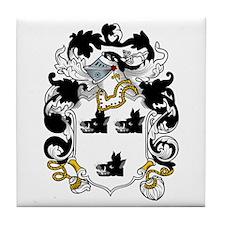 Hogg Family Crest Tile Coaster