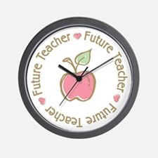 Future Teacher Wall Clock