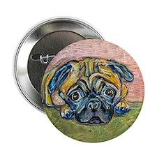 """Winnie"" the Pug Button"