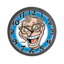 Manic Howie Wall Clock
