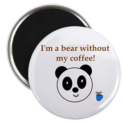 BEAR WITHOUT COFFEE 2.25