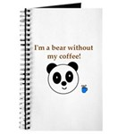 BEAR WITHOUT COFFEE Journal