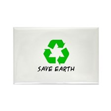 Save Earth Rectangle Magnet