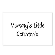 Mommy's Little Constable Postcards (Package of 8)