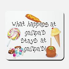 What Happens at Gampa's... Mousepad