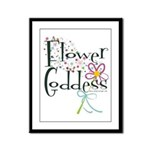 Flower Goddess Framed Panel Print