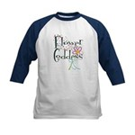 Flower Goddess Kids Baseball Jersey