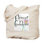 Flower Goddess Tote Bag