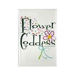 Flower Goddess Rectangle Magnet (100 pack)