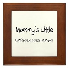 Mommy's Little Conference Center Manager Framed Ti