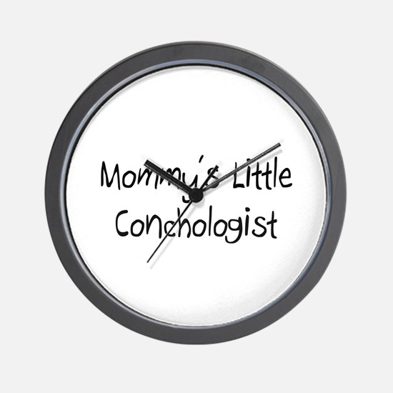 Mommy's Little Conchologist Wall Clock