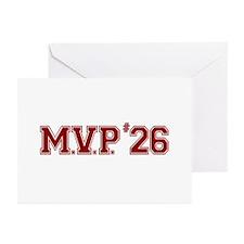 Utley MVP Greeting Cards (Pk of 10)