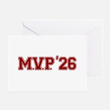 Utley MVP Greeting Card