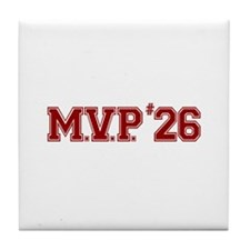 Utley MVP Tile Coaster