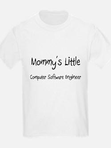 Mommy's Little Computer Software Engineer T-Shirt