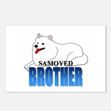 Samoyed Brother Postcards (Package of 8)