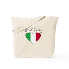 Bambino Heart Tote Bag