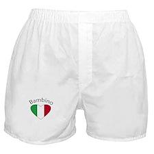 Bambino Heart Boxer Shorts