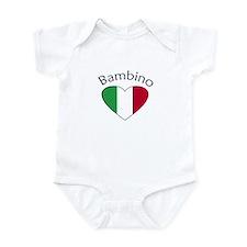 Bambino Heart Infant Bodysuit