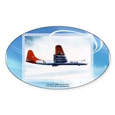 B-36 Peacemaker Oval Decal