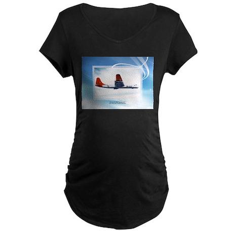 B-36 Peacemaker Maternity Dark T-Shirt