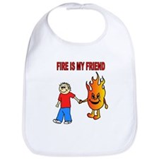 Cute Womens firefighter Bib