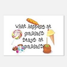 What Happens at Grandad's... Postcards (Package of