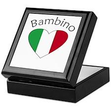 Bambino Heart Keepsake Box