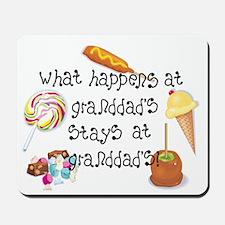 What Happens at Granddad's... Mousepad
