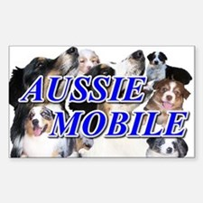 Aussiemobile Rectangle Decal