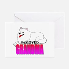 Samoyed Grandma Greeting Card