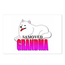 Samoyed Grandma Postcards (Package of 8)