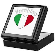 Bambino Heart 2 Keepsake Box