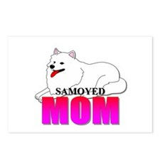 Samoyed Mom Postcards (Package of 8)