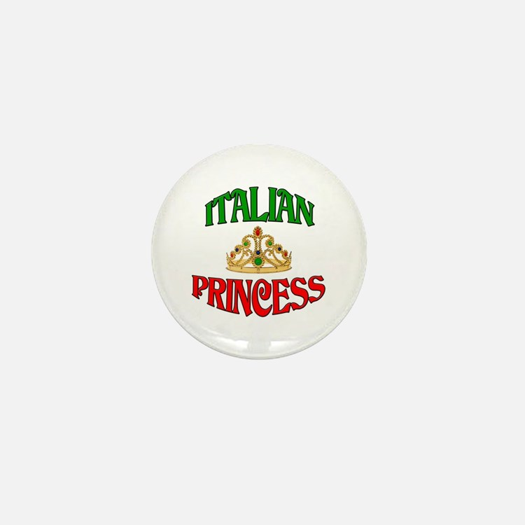 Italian Princess Mini Button