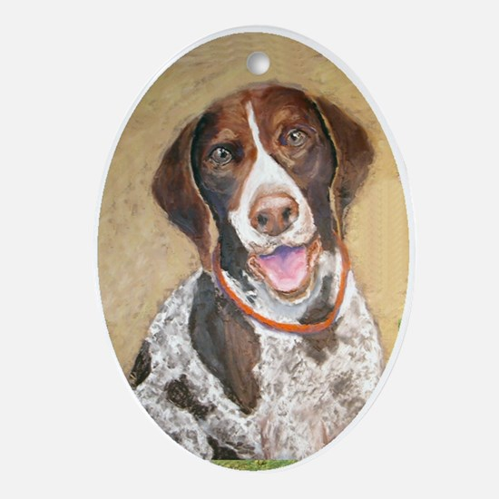 German Shorthaired Pointer Keepsake (Oval)