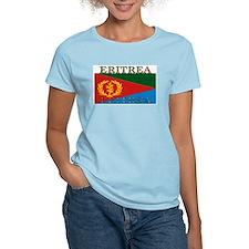 Eritrea Women's Pink T-Shirt