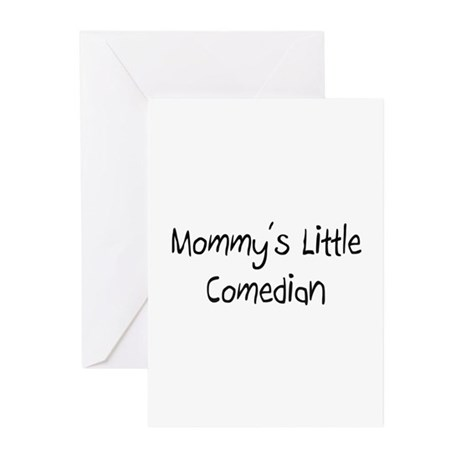 Mommy's Little Comedian Greeting Cards (Pk of 10)
