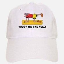 Trust Me I Do Yoga Baseball Baseball Cap